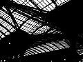2005-08-28 - London - Paddington Station - Black and White (4888286344).jpg