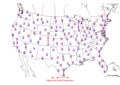 2006-04-29 Max-min Temperature Map NOAA.png