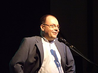 Martin Haase - Haase lecturing at the 50th Experanto Internacia Seminario in Wewelsburg, December 2006