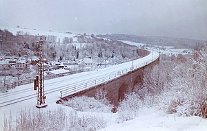 Altenbeken Viaduct - Image: 2009 01 06 Altenbeken (7)