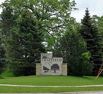 Chatfield, Minnesota - Image: 2009 0528 Chatfield sign