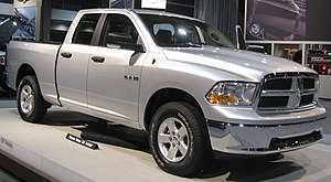 2009 Dodge Ram photographed at the 2008 Washin...