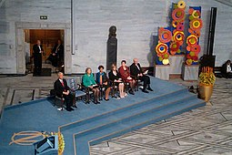 The Nobel Prize for Peace ceremony in Oslo, Norway.