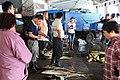 2010 07 13880 6458 Chenggong Chenggong Fishing Harbor Fish auctions Taiwan.JPG
