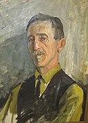 2011.11.05 Karl Imenes, maleri av S. Undeland IMG 2722 FJSH beskore (1).jpg