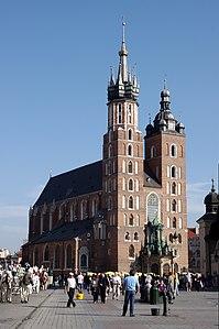 20110917 Krakow Kosciol Mariacki 0306