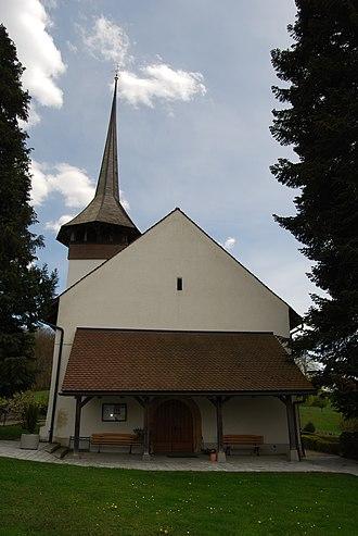 Ferenbalm - The village church of Ferenbalm, rebuilt after a fire in 1657.