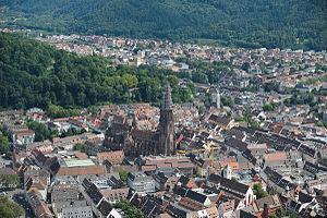 Altstadt Freiburg, Freiburger Münster