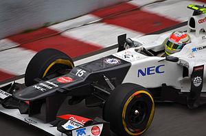2012 Canadian Grand Prix Sergio Perez in Sauber C31.jpg