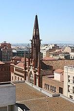 Campanario del Convento de los Jesuitas, Tarragona (1918)