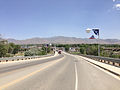 2014-06-12 13 56 44 View south along Melarkey Street (U.S. Route 95) just north of downtown Winnemucca, Nevada.JPG