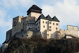 Trenčín Castle - Image: 2014 07 10 Trenčiansky hrad