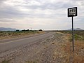 2014-07-18 09 40 51 First reassurance sign along southbound Nevada State Route 895 in Preston, Nevada.JPG