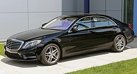 2014 Mercedes-Benz S550 lwb black (US).jpg