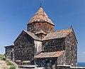 2014 Prowincja Gegharkunik, Sewanawank, Kościół Świętych Apostołów (10).jpg