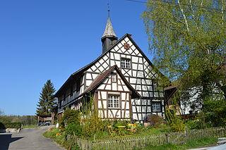 Neunforn Place in Thurgau, Switzerland
