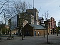 2015-London-Woolwich, Royal Arsenal Crossrail development 12.JPG