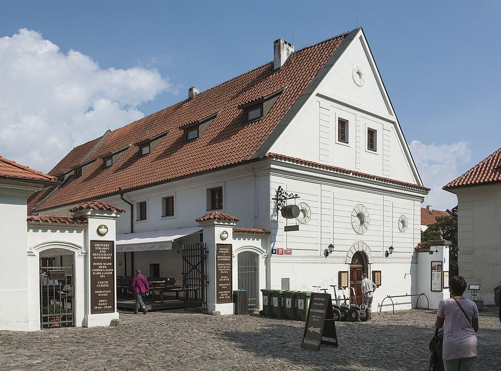 Brasserie à 2 pas du Monastère de Strahov à Prague - Photo de Jacek Halicki