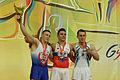 2015 European Artistic Gymnastics Championships - Vault - Medalists 10.jpg