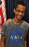 2015 US Congressman Mike Honda with student Ahmed Mohamed 03 (cropped to Mohamed).jpg