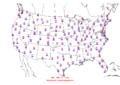 2016-04-09 Max-min Temperature Map NOAA.png