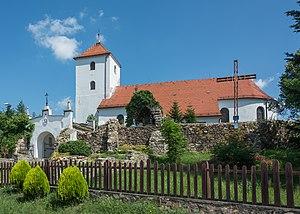 Wigancice - Image: 2016 Kościół św. Bartłomieja w Wigańcicach 3