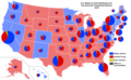 2016 Presidential Election by Vote Distribution Among States.png