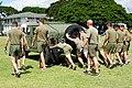 2016 Seabee Olympics Hawaii - Humvee Push - Marine Corps Engineer (25265184495).jpg