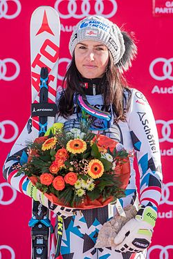 2017 Audi FIS Ski Weltcup Garmisch-Partenkirchen Damen - Stephanie Venier - by 2eight - 8SC0753.jpg