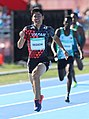 2018-10-16 Stage 2 (Boys' 400 metre hurdles) at 2018 Summer Youth Olympics by Sandro Halank–104.jpg