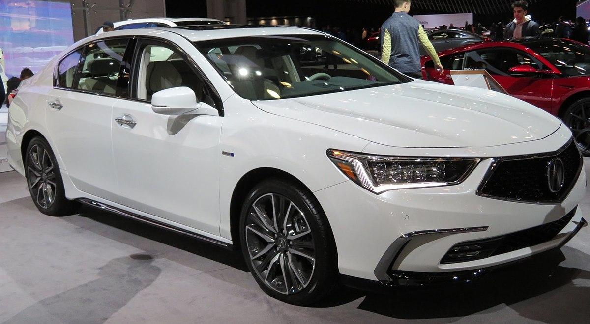 2020 Acura RLX Exterior and Interior
