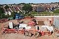2018 at Stapleton Road - new footbridge foundations.JPG