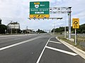 2019-09-17 13 03 52 View west along Virginia State Route 7 (Leesburg Pike) at the exit for Virginia State Route 267 WEST (Dulles Airport) on the edge of McLean and Wolf Trap in Fairfax County, Virginia.jpg