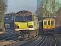 20901 and 20905 drag 92028 from Wembley to Dollands Moor 0O20 (16523294426).jpg