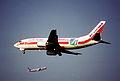 24ae - Air Europa Boeing 737-3Y0; EC-GFU@ZRH;10.05.1998 (5888345778).jpg