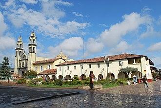 Zacatlán - View of the San Pedro parish