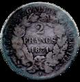 2 francs Cérès revers.png