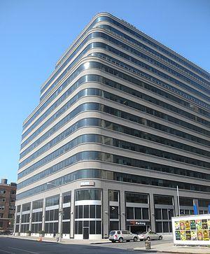 Saatchi & Saatchi - Hudson Street building