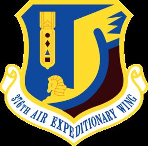376th Air Expeditionary Wing - 376th Air Expeditionary Wing emblem