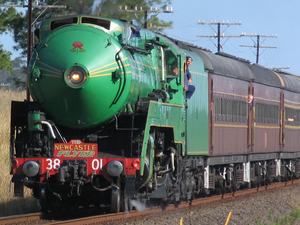 3801 with Newcastle Flyer.png