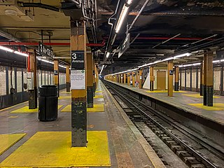 Third Avenue–138th Street station New York City Subway station in the Bronx