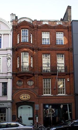 Bond Street - 43 Old Bond Street.