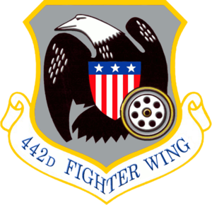 442nd Fighter Wing - Image: 442d Fighter Wing