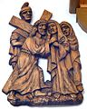 4 Jesus meets His Mother. Church of St. John Nepomucen in Brenna.JPG