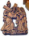 4 Jesus meets His Mother. Church of St. John Nepomucen in Brenna.JPG