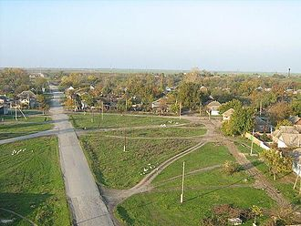 Mozdoksky District - The selo of Troitskoye in Mozdoksky District