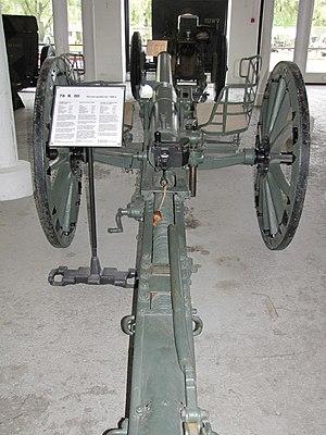 76 mm gun M1900 - Image: 76 K 00 Hämeenlinna 4