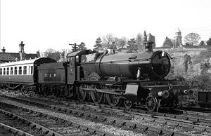 GWR 7800 Class 7819 Hinton Manor - 7819 Hinton Manor at Bridgnorth