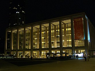 Connotations (Copland) - The Philharmonic Hall in Lincoln Center, for the opening of which Connotations was commissioned.