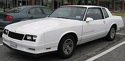 1983-1986 Chevrolet Monte Carlo SS